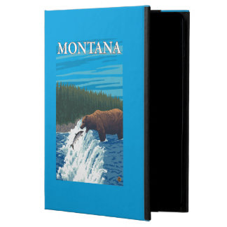 Bärn-Fischen im Fluss- Montana