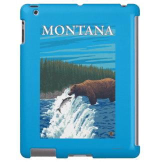 Bärn-Fischen im Fluss- Montana iPad Hülle