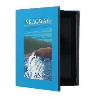 Bärn-Fischen im Fluss- Skagway, Alaska iPad Schutzhüllen
