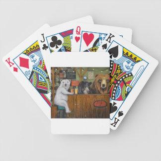 Bärn-Häuschen 28 Bicycle Spielkarten