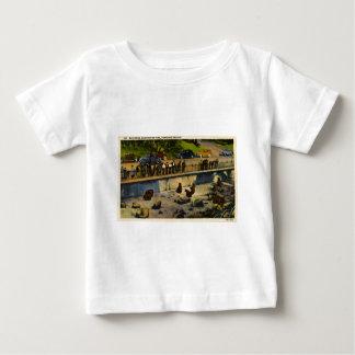 Bärn-Höhlen-Washington-Park Portland Oregon Vintag Baby T-shirt