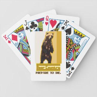 Bärn-Land Bicycle Spielkarten