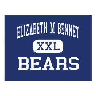 Bärn-Mitte Manchester Elizabeth M Bennet Postkarte