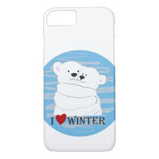 Bärn-Paar-polarer niedlicher iPhone 8/7 Hülle