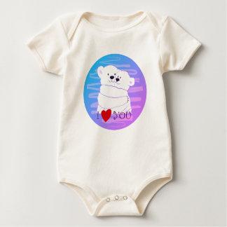 Bärn-Paar-polares niedliches Baby Strampler