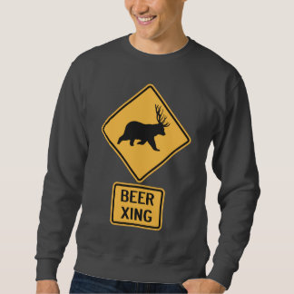 Bärn-Rotwild-Bier-Überfahrt Sweatshirt