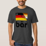 Bärn-Stolz-deutsche Flagge Bär (Schwarzes) Hemden