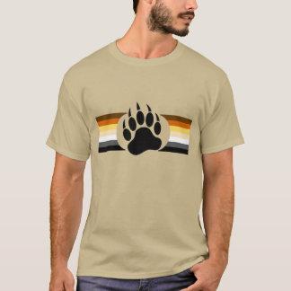 Bärn-Stolz färbt Streifen und Bärenpranke T-Shirt