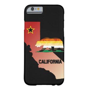 Bärn-Stolz-Flaggen-Kalifornien-Bär Barely There iPhone 6 Hülle
