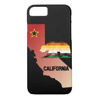 Bärn-Stolz-Flaggen-Kalifornien-Bär iPhone 8/7 Hülle