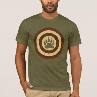 Bärn-Stolz-Superheld-Schild-Bärenpranke T-Shirt
