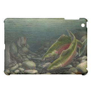 Bärn-u. Lachs-Kunst Ipad Fall-Tier-Kunst-Geschenke Hüllen Für iPad Mini