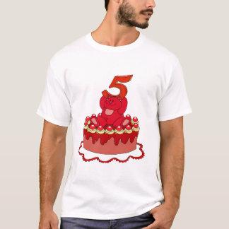Bärn-und Kuchen-5. Geburtstags-Geschenke T-Shirt