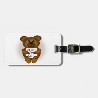 Bärn-Zeichen Gepäckanhänger