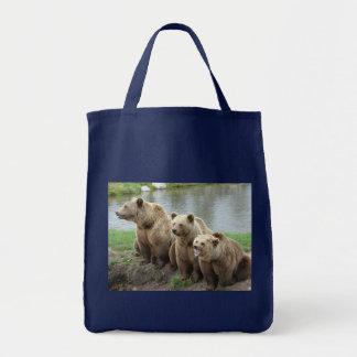 Bärnbärn-Tiergewohnheit personifizieren Jahrestage Tragetasche