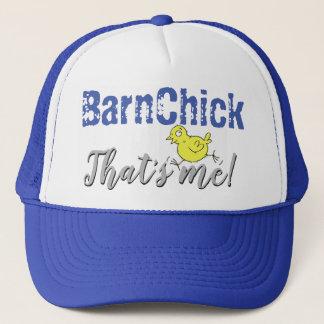 BarnChick, das ich ist! Fernlastfahrer-Hut - Blau Truckerkappe