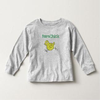 BarnChick Kleinkind-T-Stück - Grau Kleinkind T-shirt