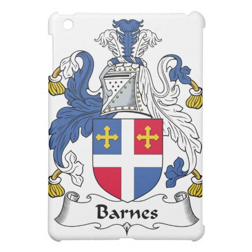 Barnes-Familienwappen Hülle Für iPad Mini