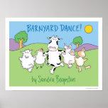 BARNYARD-TANZ! Plakat durch Sandra Boynton