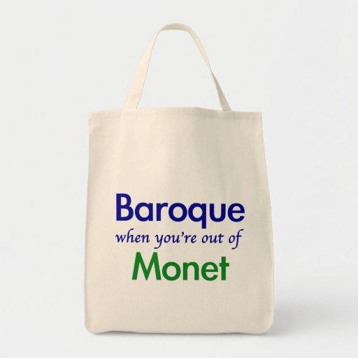 Barock - Monet Leinentasche