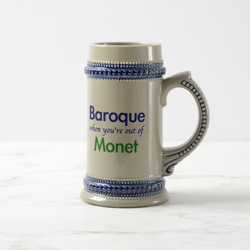 Barock - Monet Kaffeetasse