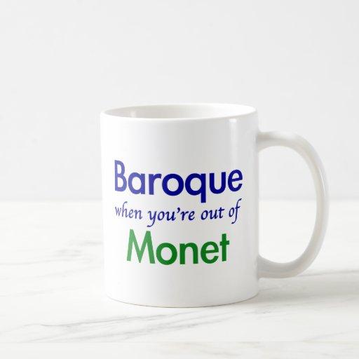 Barock - Monet Kaffeetassen
