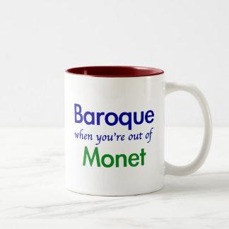 Barock - Monet Zweifarbige Tasse