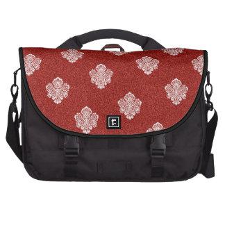 Barock, Verzierungen, Ornamental, Rot, Kirsche, Notebook Tasche