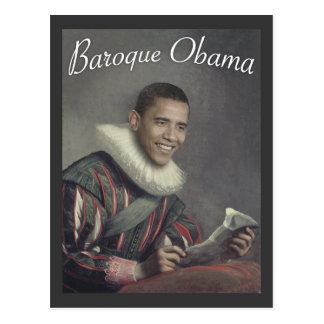 Barocker Obama Postkarten