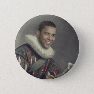 Barocker Obama Runder Button 5,1 Cm
