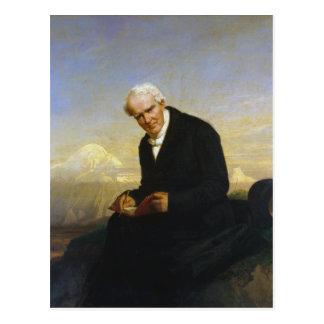 Baron Alexander von Humboldt durch Julius Schrader Postkarte