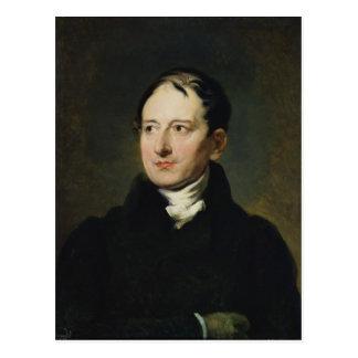 Baron Francois Pascal Simon Gerard Postkarte