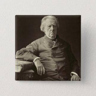 Baron Isidore Justin Severin Taylor (1789-1879), f Quadratischer Button 5,1 Cm