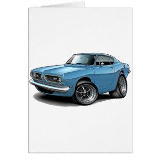 Barracuda-lt 1967-69 Blue Car Karte