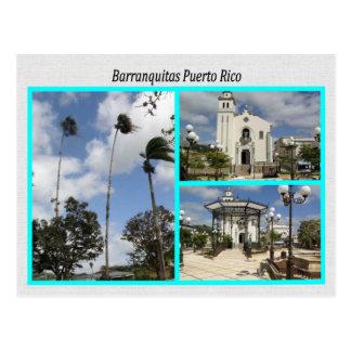 Barranquitas Puerto Rico Postkarte