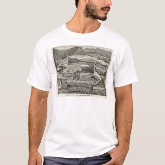 Barron u. Merrills weiße Gebirgshäuser, NH T-Shirt