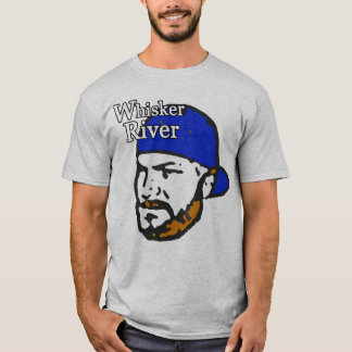 Bart-Fluss (blau) T-Shirt