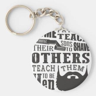 Bart, irgendein Vater unterrichten, um andere zu Schlüsselanhänger