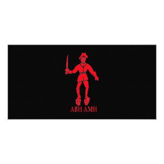 Bart Roberts #2-Red Foto Grußkarte