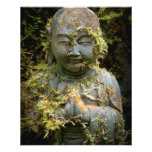 Bärtige Buddha-Statue-Garten-Natur-Fotografie