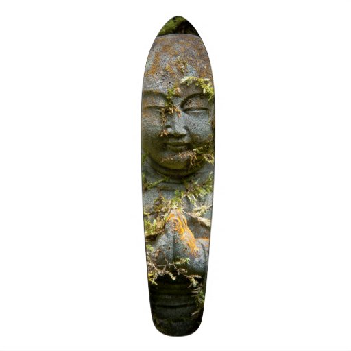 Bärtige Buddha-Statue-Garten-Natur-Fotografie Skateboard Bretter