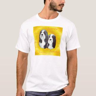 Bärtige Collie-Kopf-Studie T-Shirt