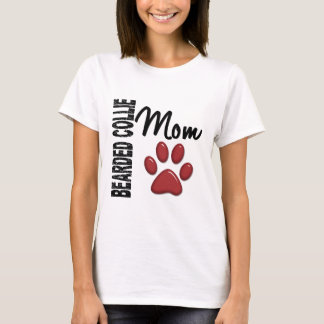 Bärtige Collie-Mamma 2 T-Shirt