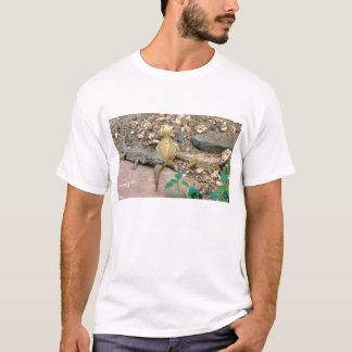 Bärtige Drachefamilie T-Shirt