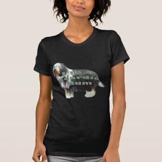 """Bärtiger Collie """"Gammler """" T-Shirt"""