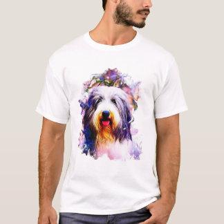 Bärtiger Collie T-Shirt