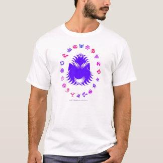 Bärtiger König - lila T-Shirt