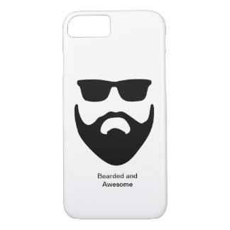 Bärtiger und fantastischer Iphone Fall/Abdeckung iPhone 8/7 Hülle