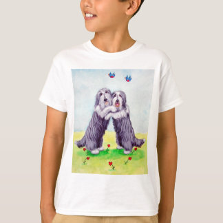 Bärtiges Collie-T-Shirt T-Shirt