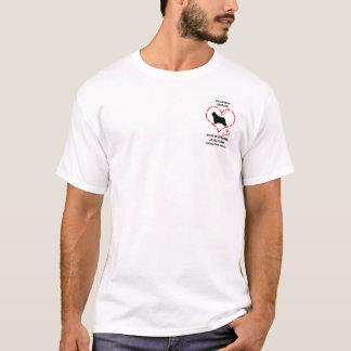 Bärtiges Collies muss geliebt werden T-Shirt